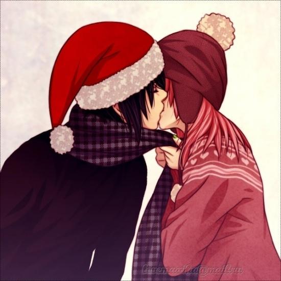 Самые красивые рисунки на Новый год и зиму - подборка 16