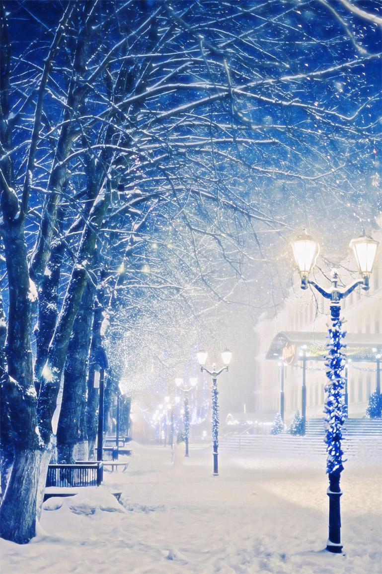 Самые лучшие и топовые зимние заставки на телефон - подборка 13