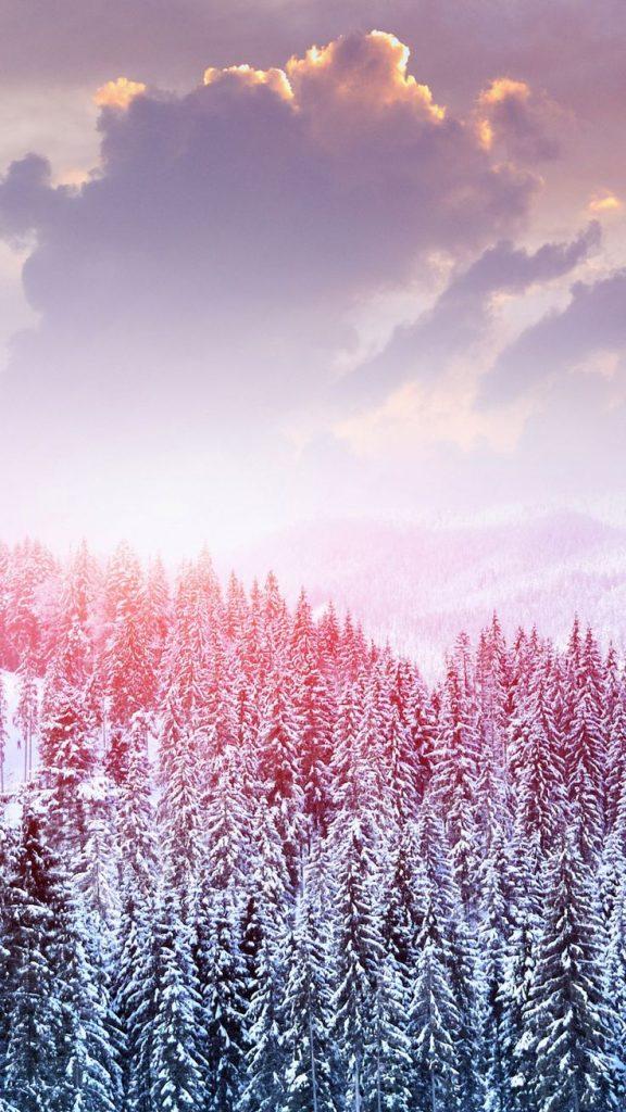 Самые лучшие и топовые зимние заставки на телефон - подборка 6