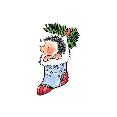 Самые милые и прикольные картинки на Новый год для срисовки 17