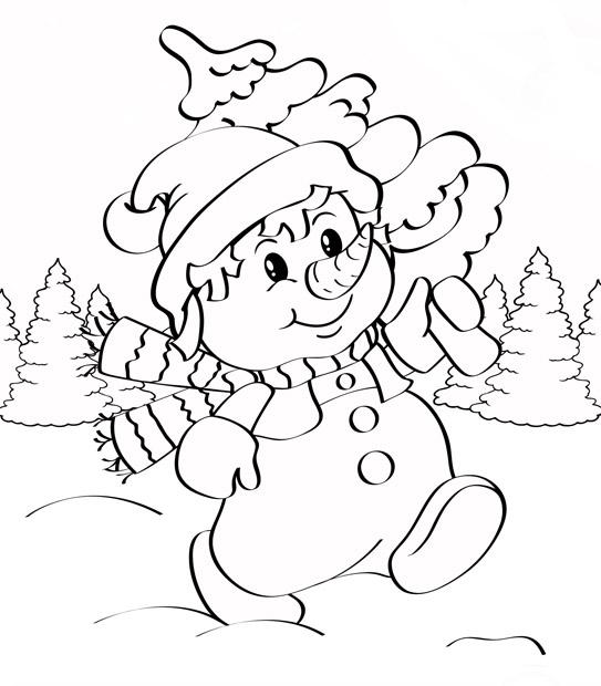Самые милые и прикольные картинки на Новый год для срисовки 2