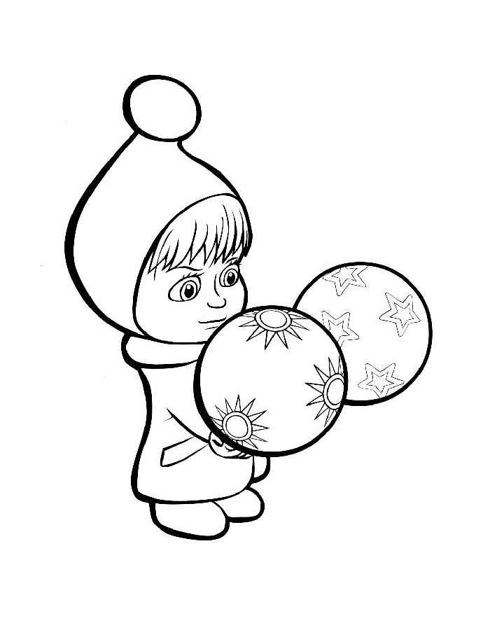 Самые милые и прикольные картинки на Новый год для срисовки 3