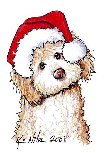 Самые милые и прикольные картинки на Новый год для срисовки 4