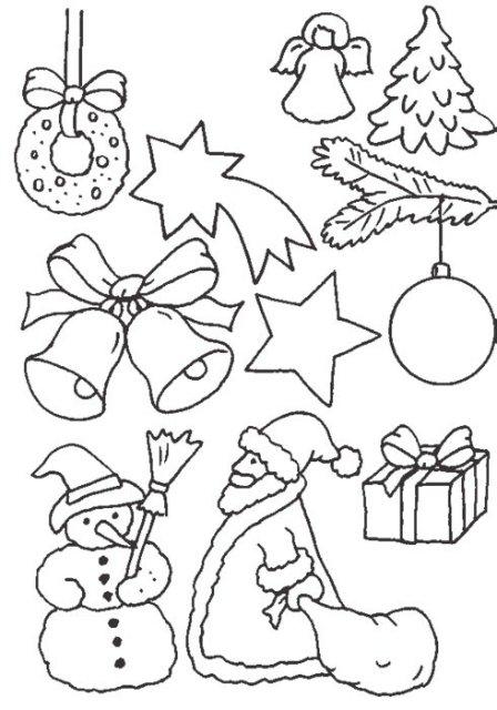 Самые милые и прикольные картинки на Новый год для срисовки 6
