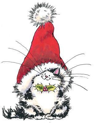 Самые милые и прикольные картинки на Новый год для срисовки 8