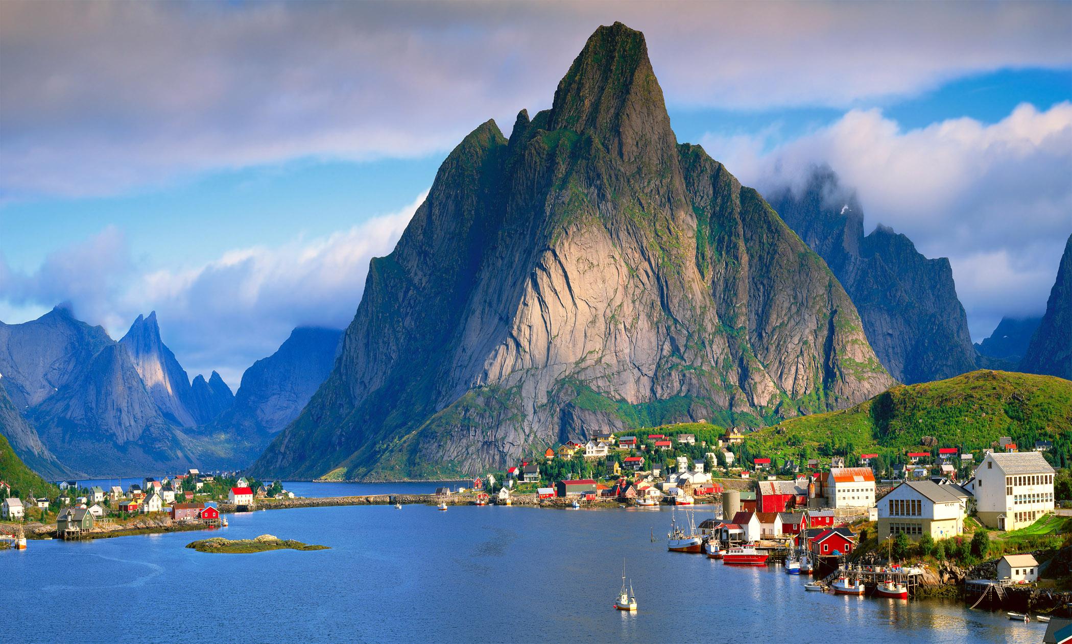 Самые удивительные и красивые фото, картинки Норвегии - сборка 11