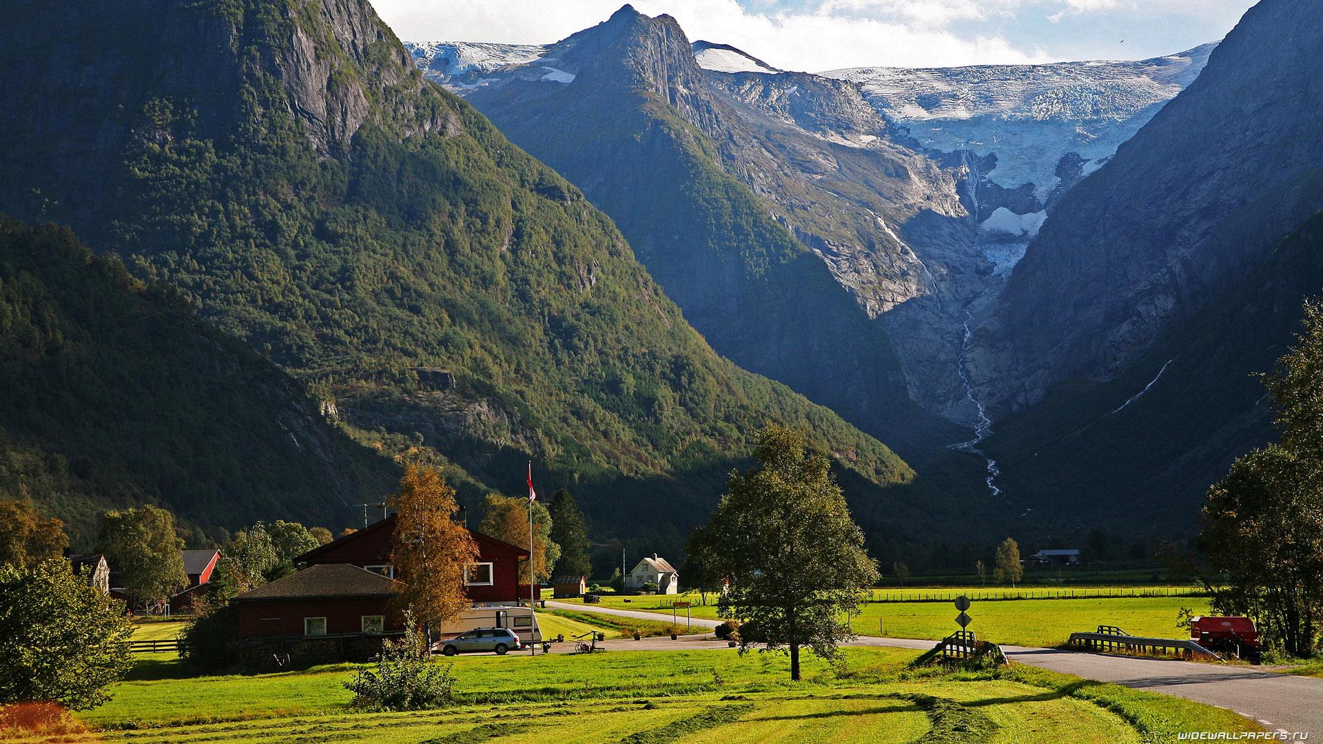 Самые удивительные и красивые фото, картинки Норвегии - сборка 13