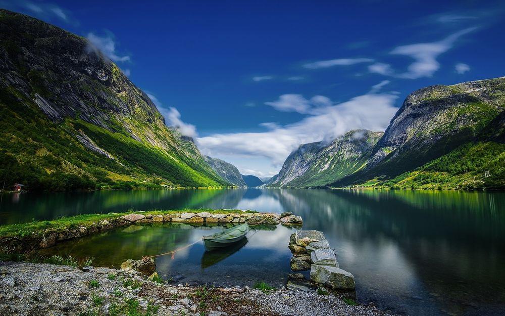 Самые удивительные и красивые фото, картинки Норвегии - сборка 14