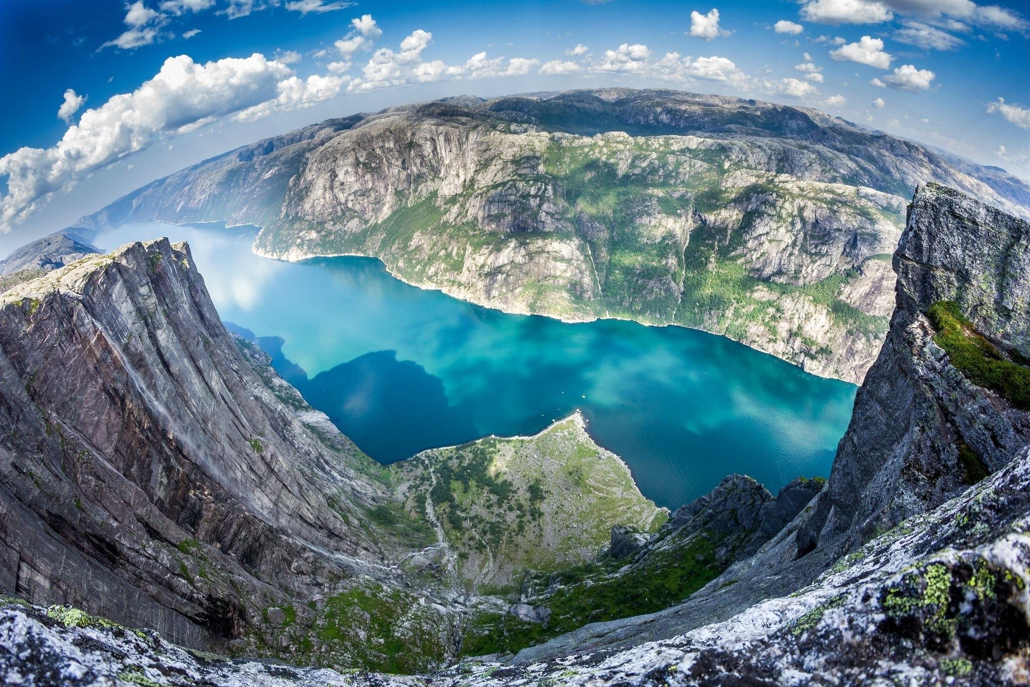 Самые удивительные и красивые фото, картинки Норвегии - сборка 17