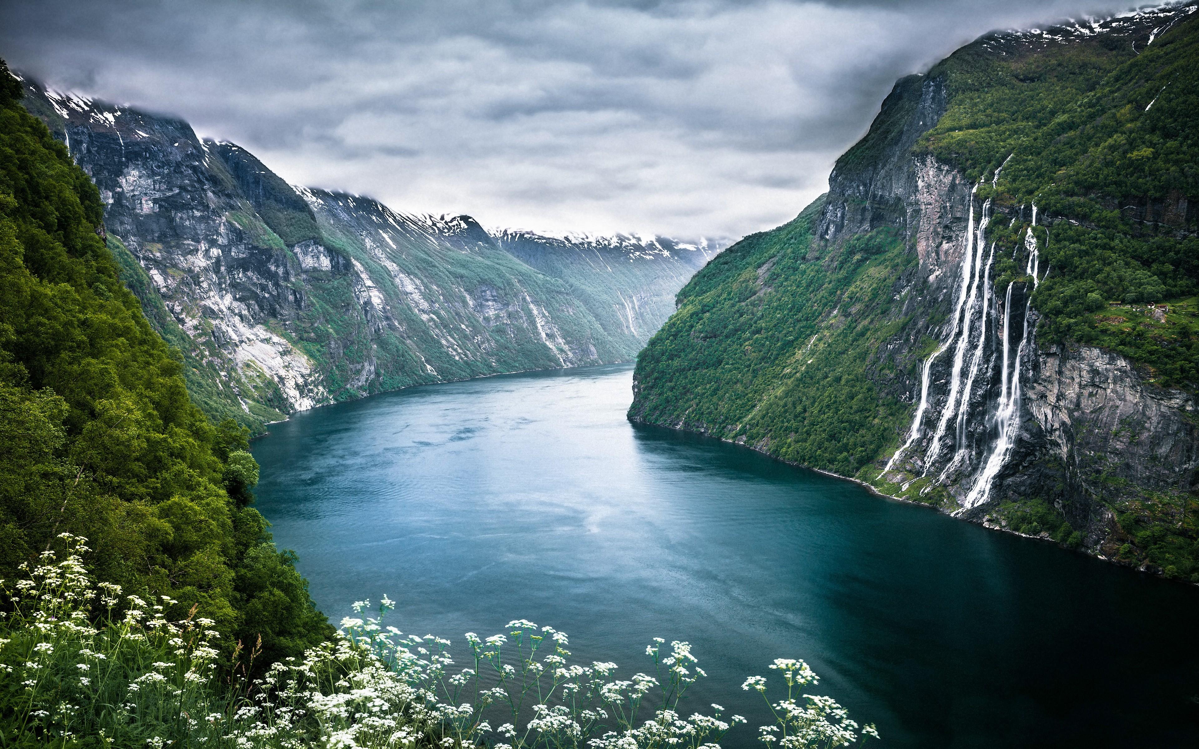 Самые удивительные и красивые фото, картинки Норвегии - сборка 4