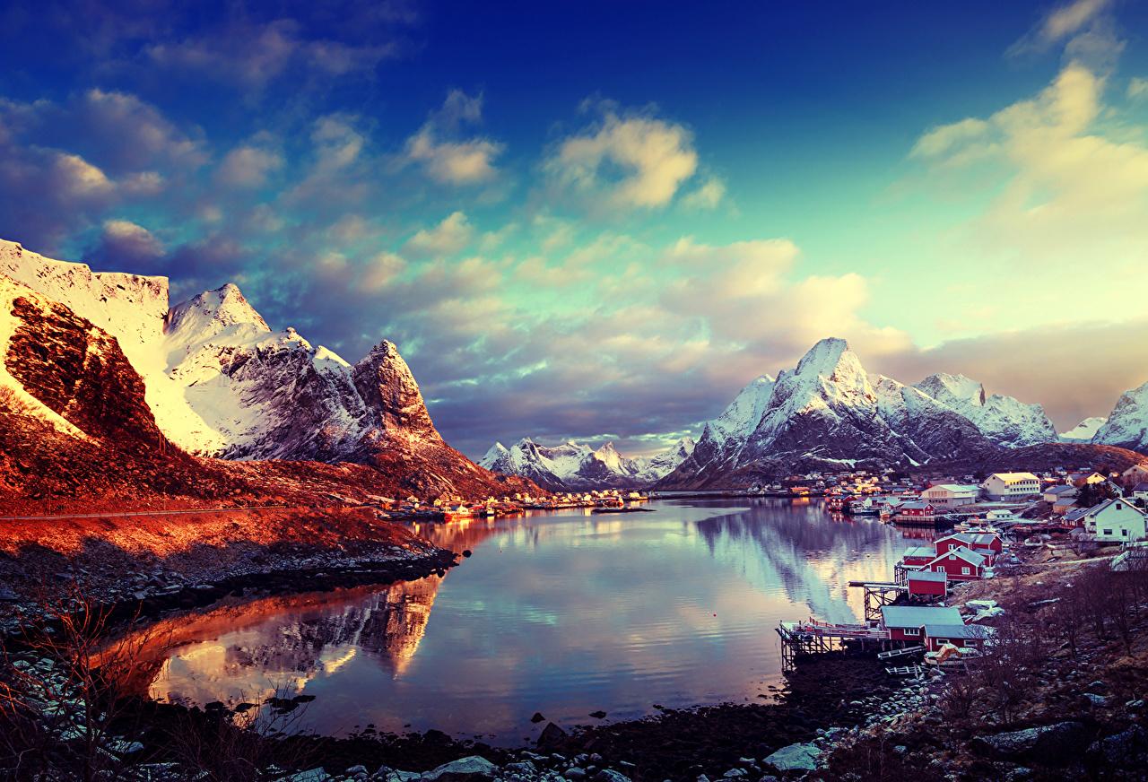 Самые удивительные и красивые фото, картинки Норвегии - сборка 5