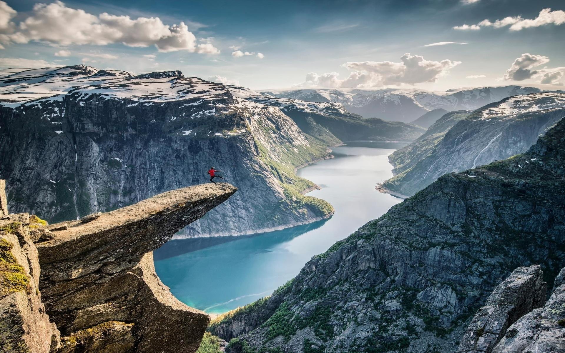 Самые удивительные и красивые фото, картинки Норвегии - сборка 7