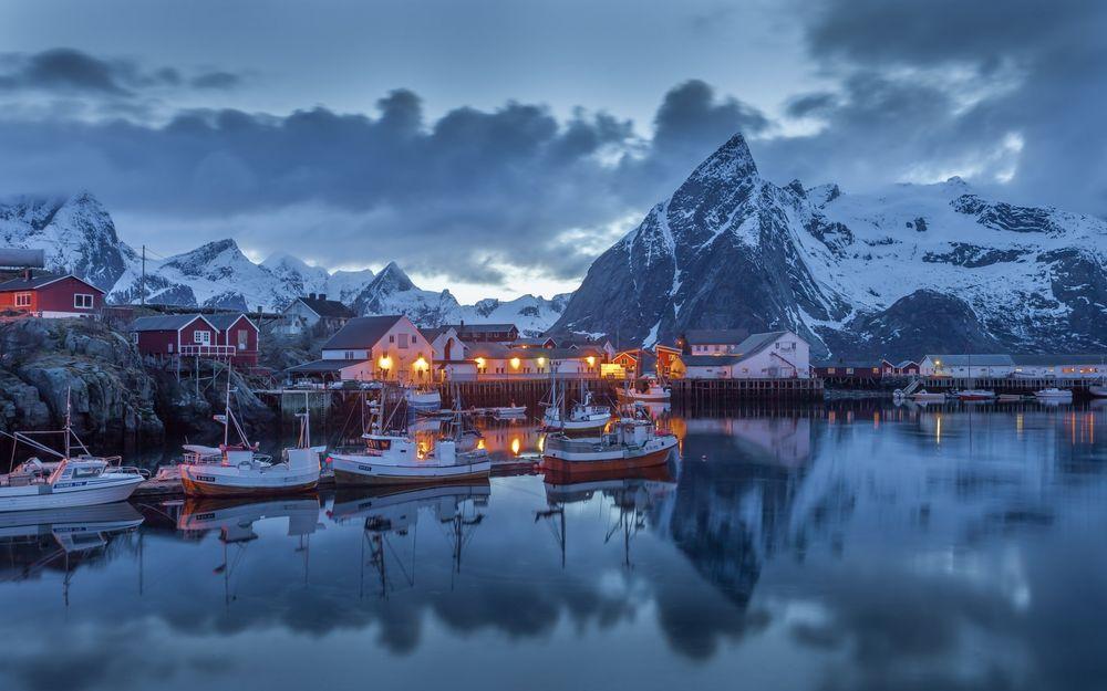 Самые удивительные и красивые фото, картинки Норвегии - сборка 9