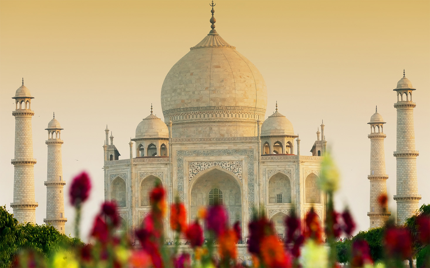 Удивительные и красивые картинки, обои Тадж Махал - подборка 10