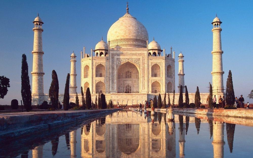 Удивительные и красивые картинки, обои Тадж Махал - подборка 11