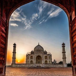 Удивительные и красивые картинки, обои Тадж Махал - подборка 14