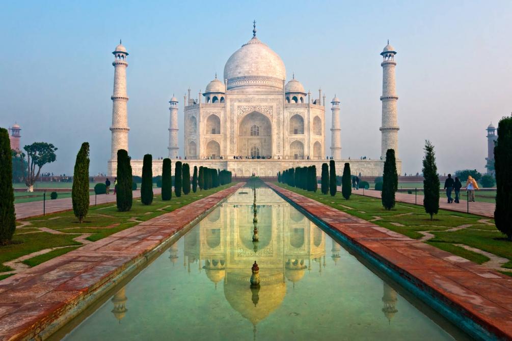 Удивительные и красивые картинки, обои Тадж Махал - подборка 5