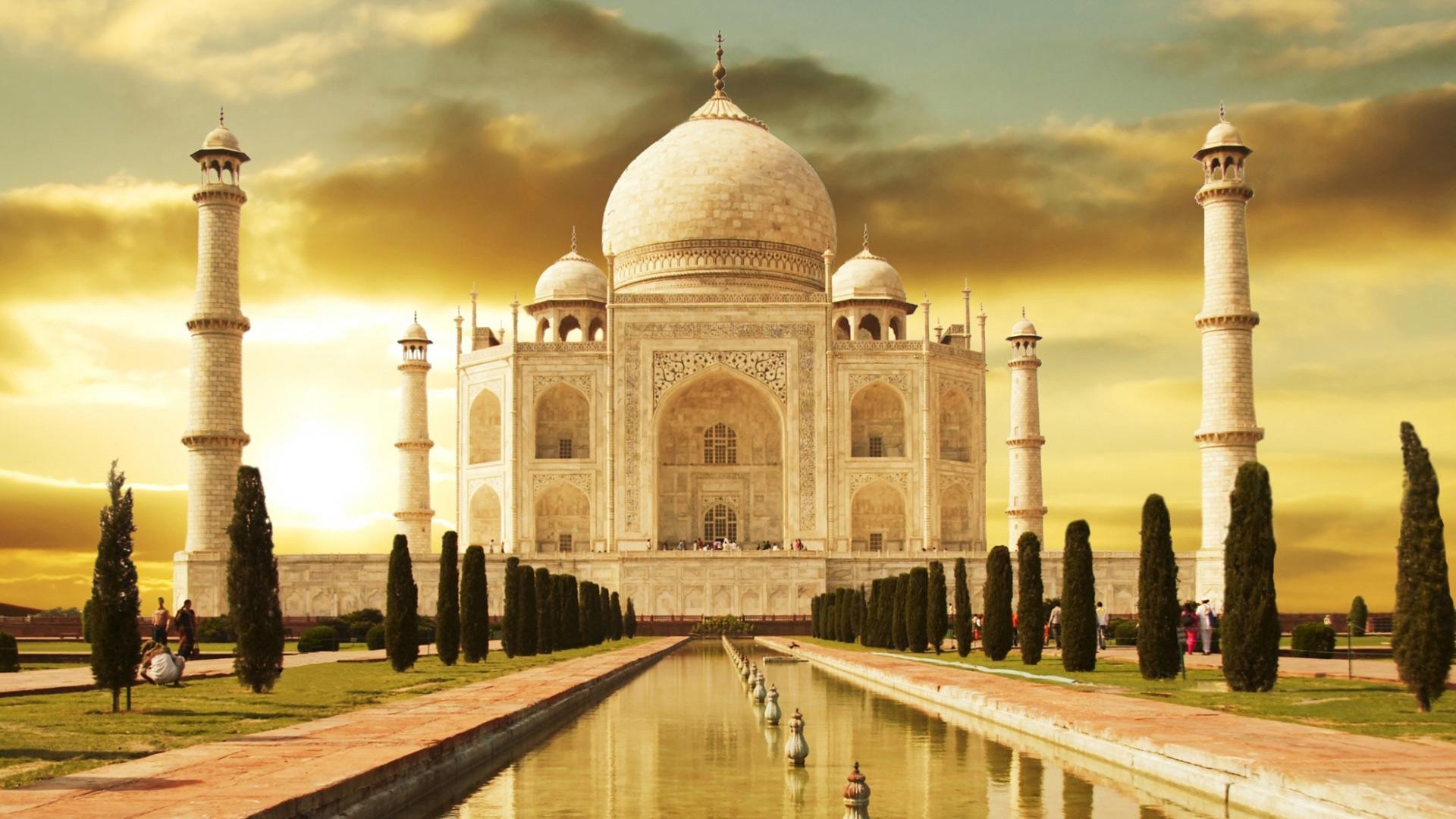 Удивительные и красивые картинки, обои Тадж Махал - подборка 7