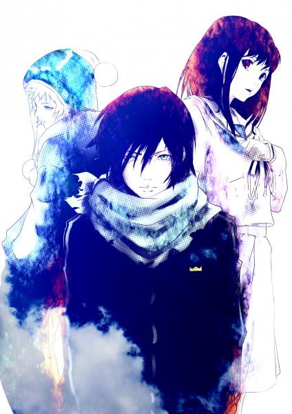 Бездомный Бог Ято - красивые картинки и арты из аниме 3