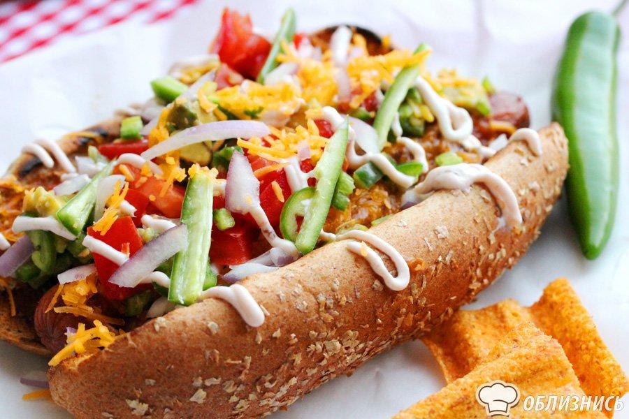 Вкусные и аппетитные фотографии Хот-Дога - подборка 20 картинок 10