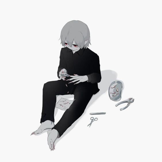 Грустные и печальные картинки со смыслом для срисовки - сборка 21