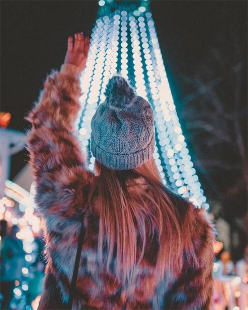 Зимние фотки на аватарку для девушек и девочек - коллекция 13