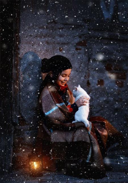 Зимние фотки на аватарку для девушек и девочек - коллекция 15