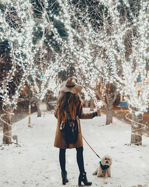 Зимние фотки на аватарку для девушек и девочек - коллекция 19