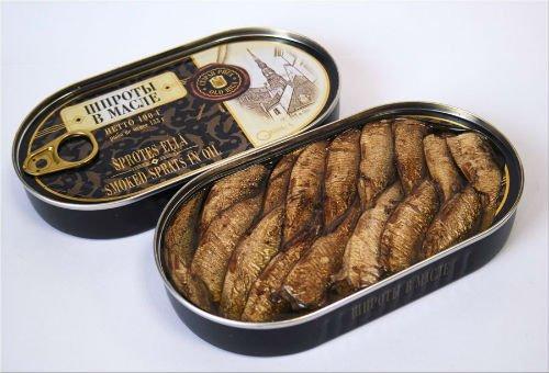Из какой рыбы делают шпроты Как узнать качество консервов 1