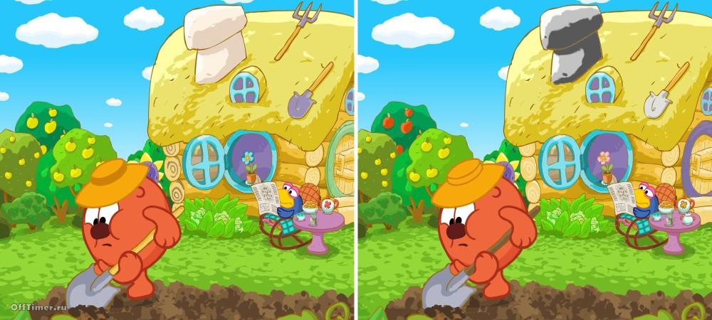 Картинки «Найди отличия» для детей и взрослых - подборка 17 фото 11