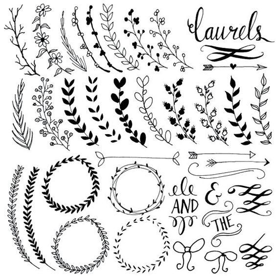 Картинки и рисунки для срисовки в ЛД для девочек - подборка 12