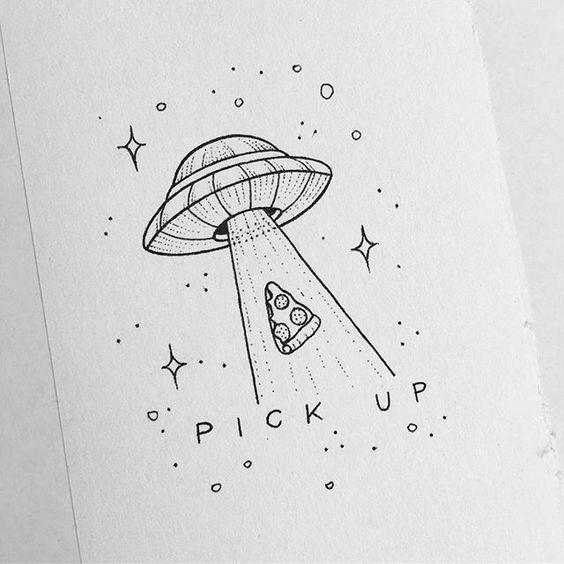 Картинки и рисунки для срисовки в ЛД для девочек - подборка 19