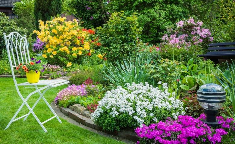 Картинки и фотографии красивого сада, удивительное оформление 12