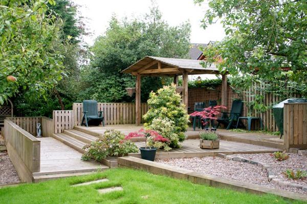 Картинки и фотографии красивого сада, удивительное оформление 2