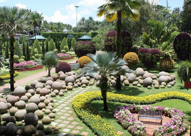 Картинки и фотографии красивого сада, удивительное оформление 3