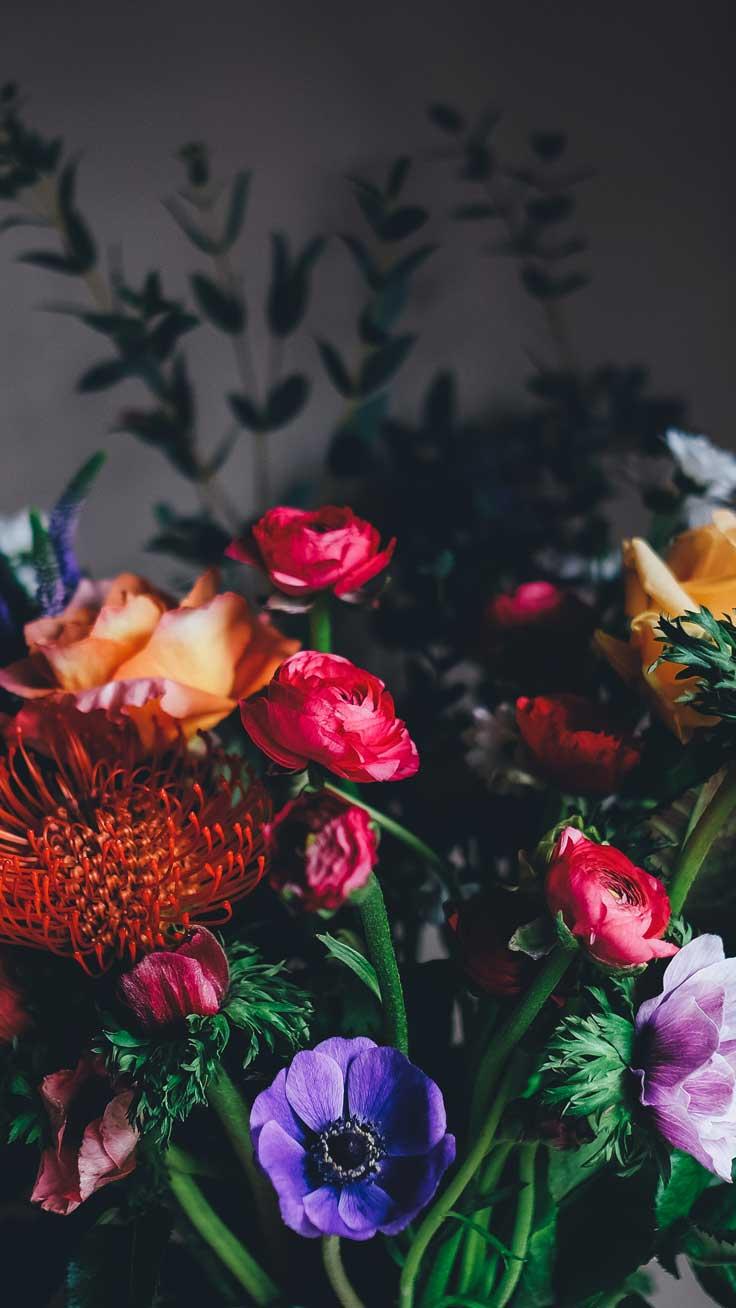 Красивые картинки на телефон цветы на главный экран - подборка 13