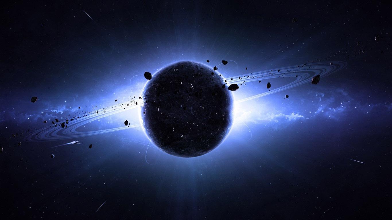 Красивые обои планет, космоса, галактик на рабочий стол - подборка 10