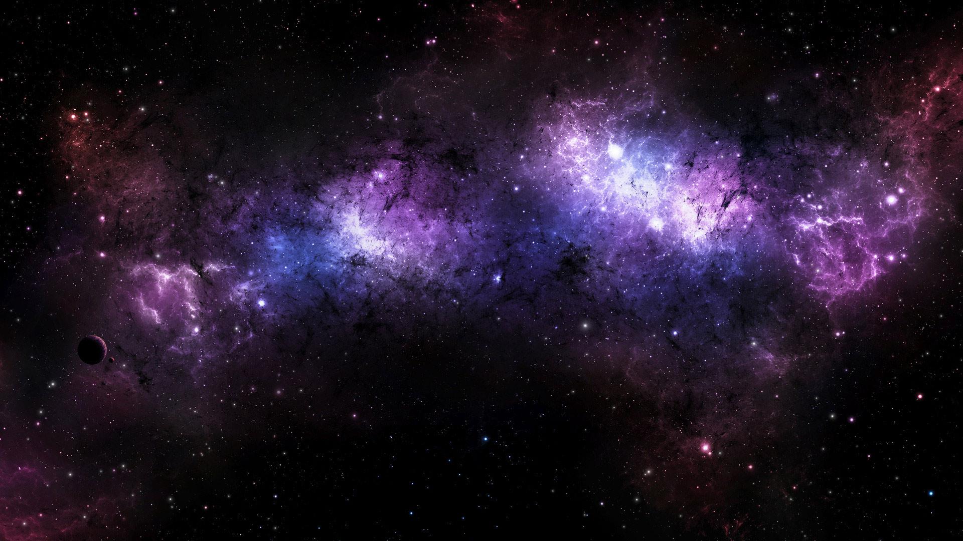 Красивые обои планет, космоса, галактик на рабочий стол - подборка 3