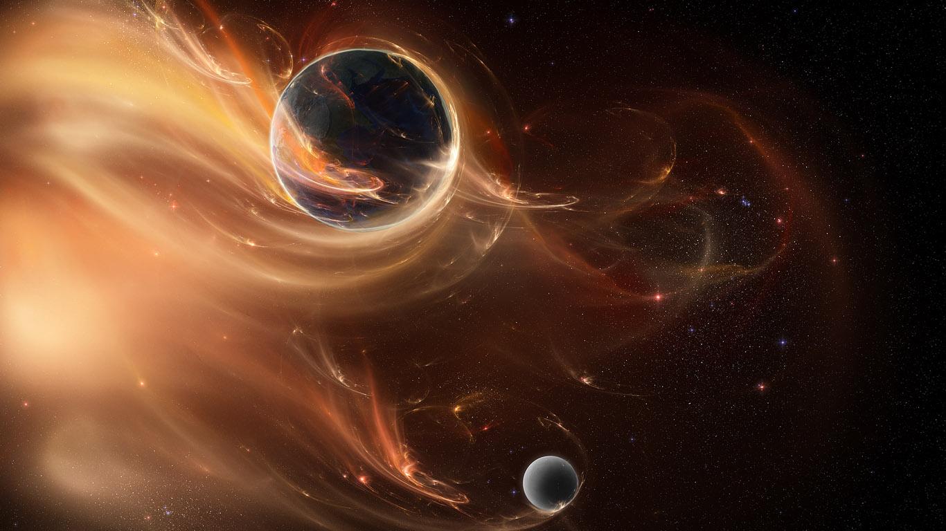 Красивые обои планет, космоса, галактик на рабочий стол - подборка 4