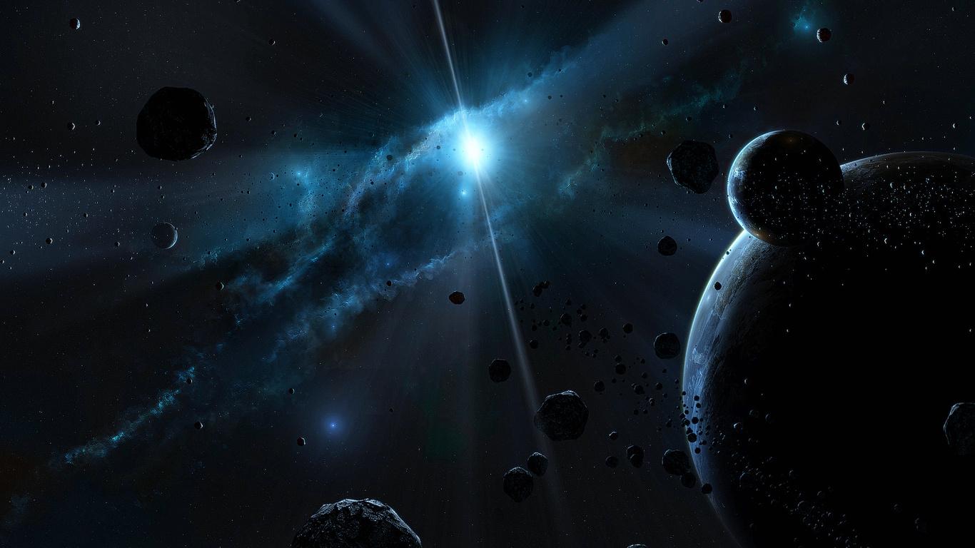 Красивые обои планет, космоса, галактик на рабочий стол - подборка 8