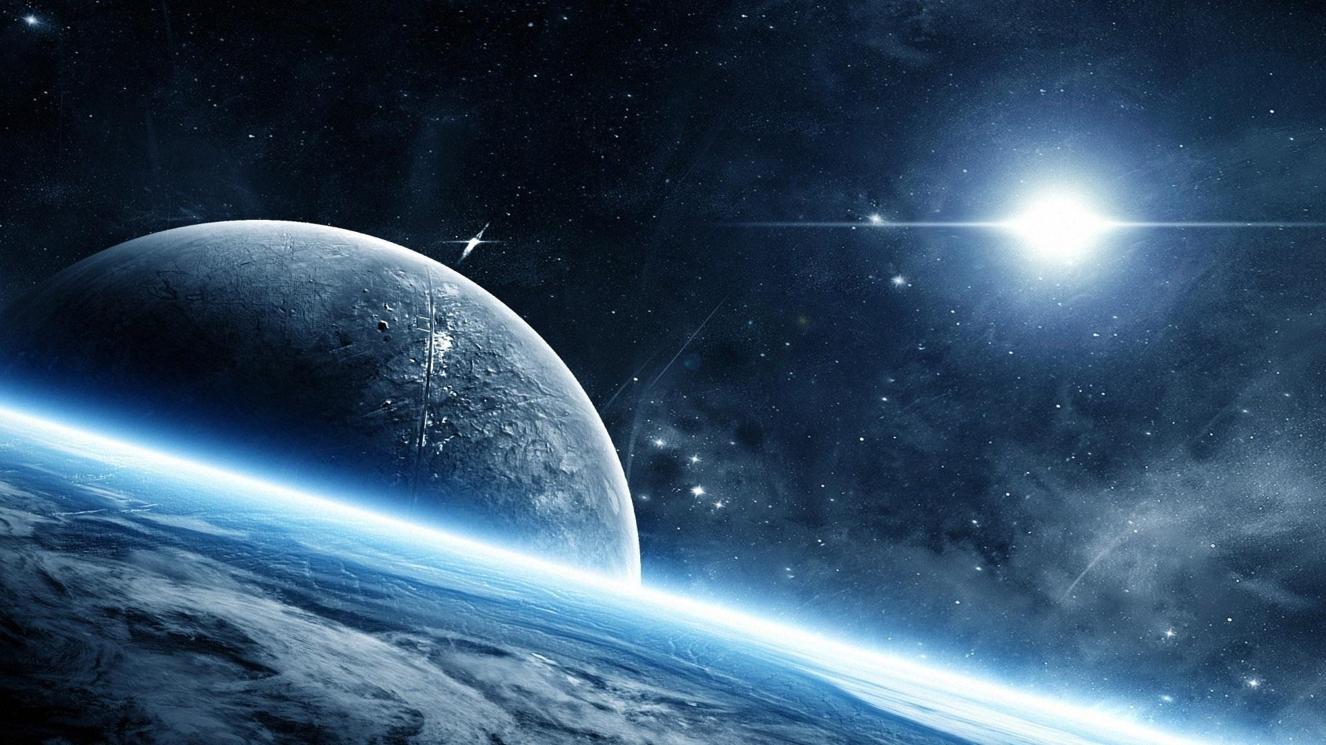 Красивые обои планет, космоса, галактик на рабочий стол - подборка 9