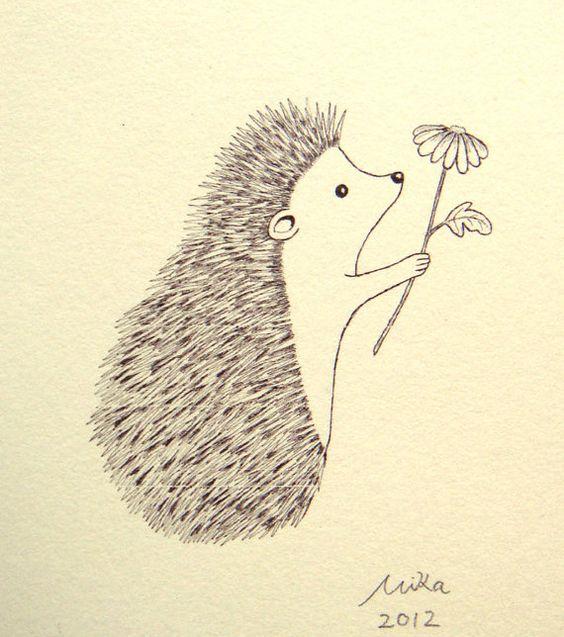Красивые рисунки простым карандашом - срисовки, картинки 1