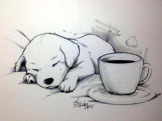 Красивые рисунки простым карандашом - срисовки, картинки 18