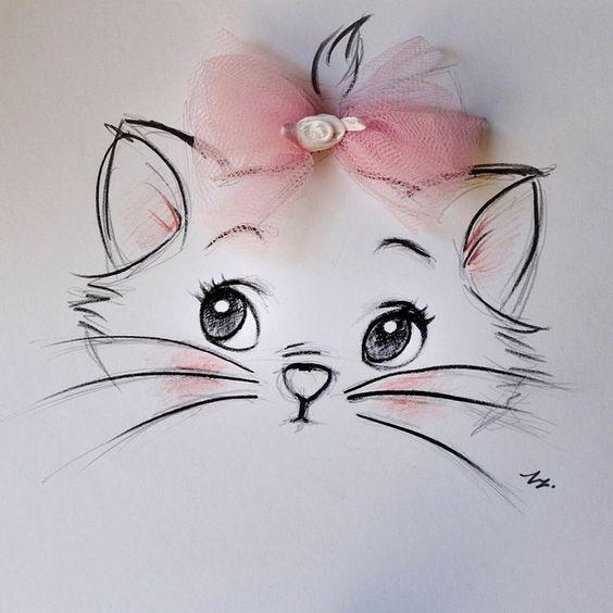Красивые рисунки простым карандашом - срисовки, картинки 8