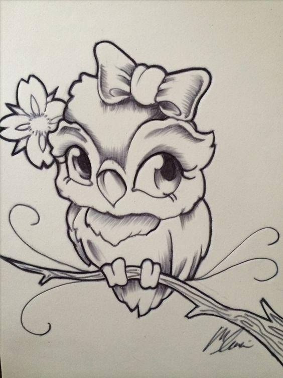 Красивые рисунки простым карандашом - срисовки, картинки 9