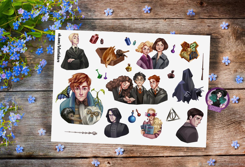 Красивые стикеры и наклейки Гарри Поттер - коллекция 46 картинок 20