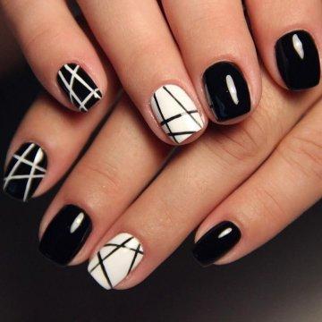 Красивые фото дизайна белых ногтей - подборка 25 картинок 15