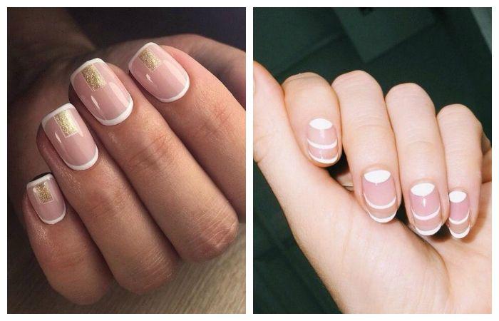 Красивые фото дизайна белых ногтей - подборка 25 картинок 22