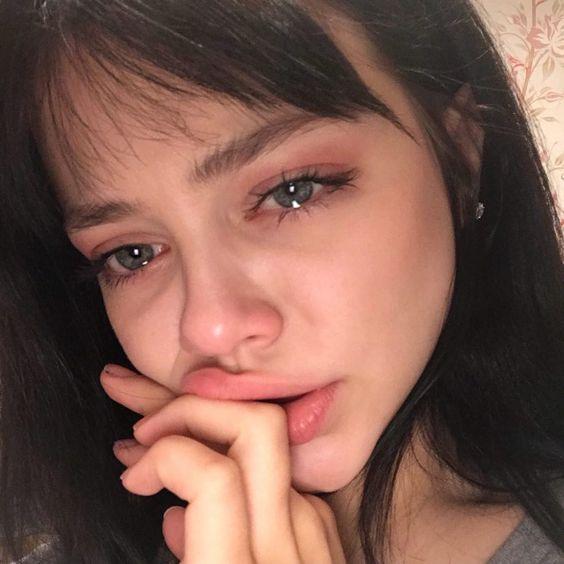 Красивые фото и картинки грустных девушек - подборка 2019 16
