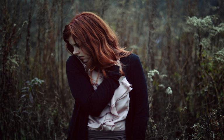 Красивые фото и картинки грустных девушек - подборка 2019 26